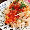 蒸し鶏とトマトソース【鶏胸肉の筋肉パスタ】(動画レシピ)/Steamed chicken with tomato sauce.