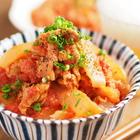 豚こまをトマト缶とみそで煮てうま味アンドうま味「トマトみそ豚丼」をフライパンで作る【筋肉料理人】
