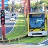 「ぐるっと九州きっぷ」3日間の旅 (7)緑化軌道が美しい鹿児島市電