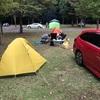 早川町オートキャンプ場再び!