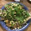 タイのハーブソースがけ白身魚フライ⁉ プラーカポン・サムンプライ ปลากะพง Pla kapong
