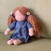ウォルドルフ人形の洋服制作 1