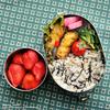#528 いろいろ混ぜたコロッケとヒジキご飯弁当