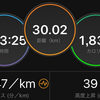 30km走で撃沈\(^o^)/