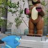 鮫対熊【ポケモンGOAR写真】フカマルのコミュニティ・デイを祝って