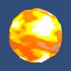 【Unity】ファイヤーボールシェーダを導入する