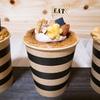 バナナの生シフォンケーキ