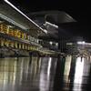 雨上がらず 大井競馬場