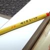 斬新な朱色の書き味!あかしや新毛筆〔朱色〕が面白い!