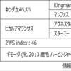 POG2020-2021ドラフト対策 No.75 ホウオウアマゾン