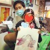 【絵画教室】竈門禰豆子の衣装で禰豆子を描く!