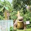 恐竜があちこちに!全長340mのスーパースライダーもある公園【潮風の丘とまり】@湯梨浜町