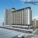 青森市中心部で計画されている「角弘本社ビル一帯の再開発事業」の完成イメージが公開
