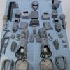 【ガンプラ】 1/100 リアルタイプ MS-06 ザクを作る その156 2020年4月25日 【旧キット】(内部フレーム フルスクラッチ)