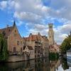 赤煉瓦の中世の街並み ベルギー ブルージュ♪