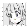 DCNNによるマンガキャラクターの顔パーツ検出(追試)