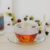 ハマナス&紅茶の大人レディなブレンドティーと身体がよろこぶ薬膳ランチ