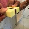【お風呂場の鏡の汚れはダイヤモンドパッドで簡単即綺麗に】
