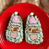 デコ巻きずし🌸サンタ&鏡餅