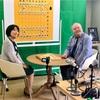 北尾まどか先生と加藤一二三先生。