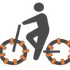 【ネタ】エネループ1本を自転車で充電するためには75kmほど漕げばよいらしい