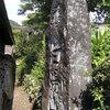 関谷山下の白湯山碑