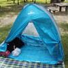 小型テントを買ったのでレビュー~大きな公園で過ごすのに最高に便利!