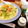 長崎ちゃんぽん リンガーハットで2種類のドレッシングで食べる「野菜たっぷりちゃんぽん」。マツコの知らないちゃんぽんの世界で紹介されたリンガーハットのちゃんぽんの美味しい食べ方!