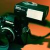Nikon F3  + Nikon SB-17