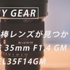 相棒レンズが見つかった。SEL35F14GMと作例