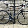 自転車とハム