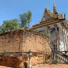 Choub Poul Temple タケオにあるもう一つの古代遺跡があるお寺さん。