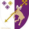 山羊の紋章。背負っております。