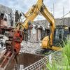 【解体】近所の解体現場に行ってみた【建設機械】