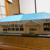 HOゲージサイズ 陸前高田駅の建築模型🚉