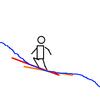 コブの滑りでよくある誤解 - 足を開いて安定させようとしてしまう
