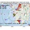川内原子力発電所周辺の地殻変動と地震活動 (2017年09月22日現在)