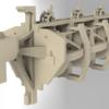 宇宙のタンカーを作る ベースモデリングその2