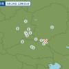 午後11時55分頃に茨城県南部で地震が起きた。