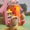 【シルバニア】赤ちゃん用ハウスを作る【100均】
