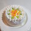 祝1歳のケーキを作った