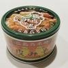 天板で缶詰を温める(広島呉名物 鳥皮みそ煮缶)