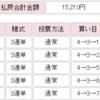 【2019年万車券11本目】令和初の万車券が最終に来ました!5点で仕留める!
