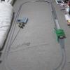 クリスマスに鉄道模型