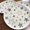 【100均】かわいい!割れない!程良い大きさ「星模様のプラスチック皿」