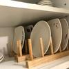 食器収納見直しました!必要なものだけを並べるとすっきり♪