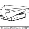 流れ星の家、土星の家、リボン付きのラートハウス