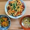 茄子のチーズ焼き、かぼちゃのきのこあんかけ、豆のスープの作り方。