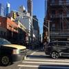 寒さ厳しいニューヨーク