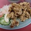 肉の天ぷらを山盛りで食べてきました @岐阜 日之出食堂